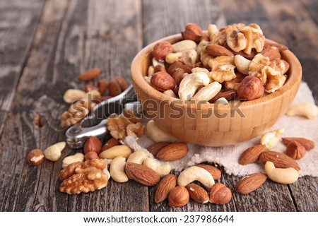 Shutterstock assortment of nuts