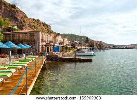 Assos (Behramkale) Ancient Harbor