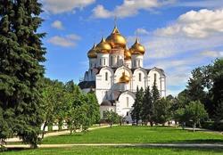 Assumption cathedral of the Russian orthodox church, Yaroslavl
