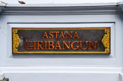 Astana Giribangun is a mausoleum for the family of the 2nd President of the Republic of Indonesia, Suharto. This tomb complex is located on the slopes of Mount Lawu