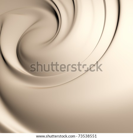 Astonishing creamy swirl background. Clean, detailed render.