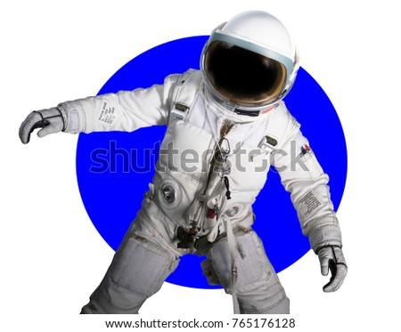 astronaut action pics