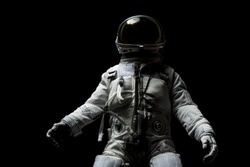 Astronaut and light