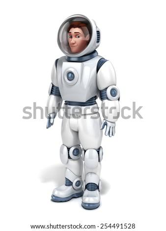 Костюм Космонавта 3D