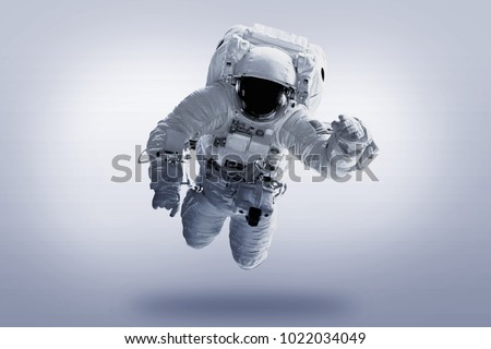 Astronaut - Elements of this Image Furnished by NASA #1022034049