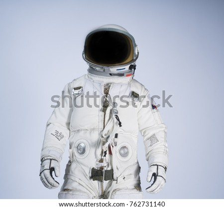 Astronaut with white background #762731140
