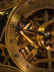 Astronomical clock in Notre Dame de Strasbourg in Alsace France