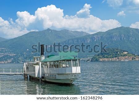 at Pier of Tremezzo,Lake Como,italian Lakes,Italy