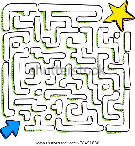 At the end of the maze is success