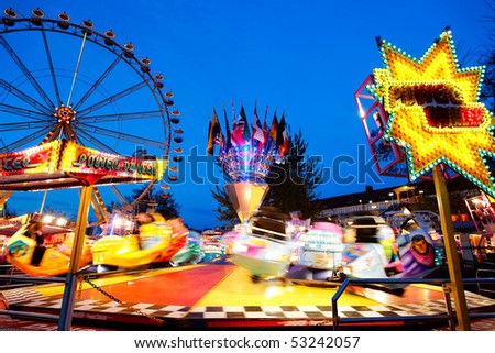 At the fairground