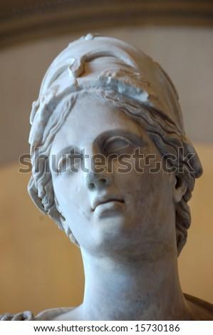 Athena - Louvre museum in Paris