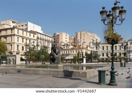 Athens, Greece. Kotzia Square