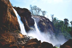 Athiraphilly watefall, kerala, India. It was clicked when I was in educational tour in kerala