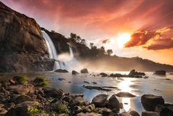 Athirappilly water Falls is the largest waterfall in Kerala and is nicknamed