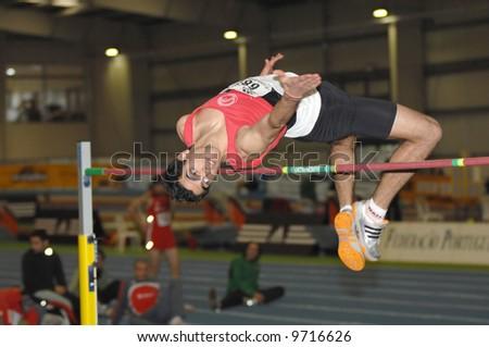Athletics - high jump - Indoor Portugal Cup - road to 12th IAAF World Indoor Championships- Valencia 2008