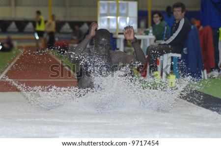 Athletics - long jump - Indoor Portugal Cup - road to 12th IAAF World Indoor Championships- Valencia 2008