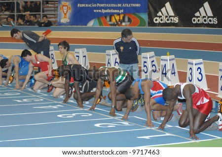 Athletics - 60 mts - Indoor Portugal Cup - road to 12th IAAF World Indoor Championships- Valencia 2008