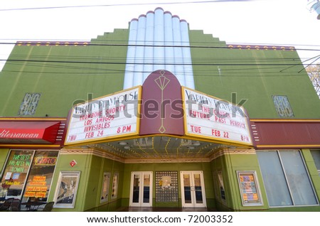 ATLANTA, GEORGIA - FEBRUARY 23: Variety Playhouse in Little Five Points is a famed music venue February 23, 2011 in Atlanta, Georgia.