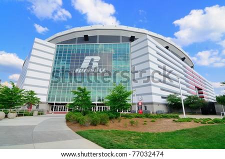 ATLANTA, GEORGIA - MAY 10: The Georgia Dome in Downtown Atlanta is home to the Atlanta Falcons May 10, 2011 in Atlanta, Georgia.