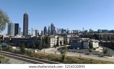 Atlanta midtown landscape #1216532845