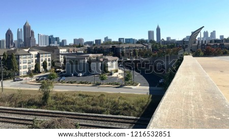 Atlanta midtown landscape #1216532851