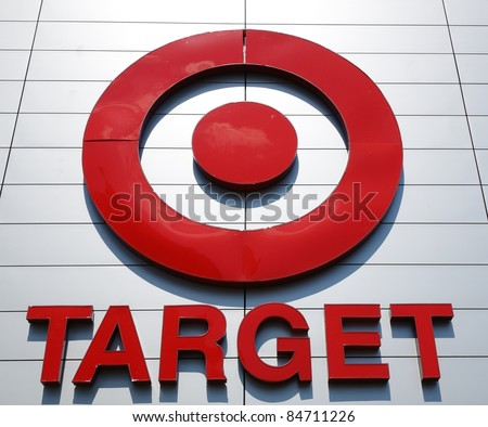 ATLANTA - SEPTEMBER 12: The Target bullseye logo on September 12, 2011 in Atlanta, Georgia. Target is the second-largest discount retailer in the United States, behind Walmart.