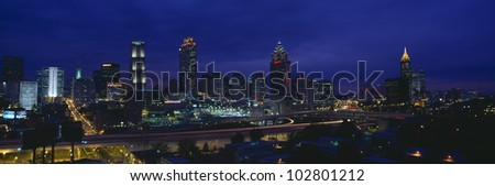 Atlanta Skyline, Georgia
