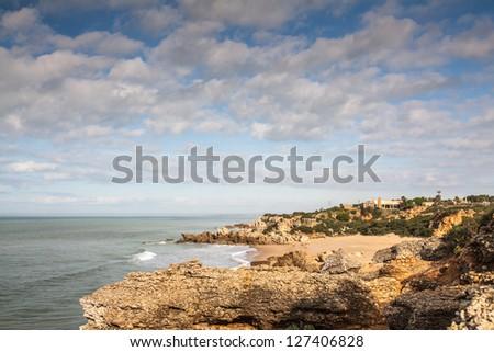 Atlantic Beach near Cadiz, Spain