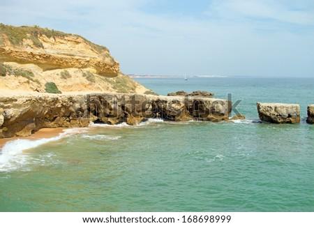 Atlantic Coast and Sea in the Algarve / Atlantic Coast