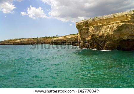 Atlantic coast in Portugal / steep coast