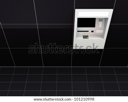 ATM Machine in Wall