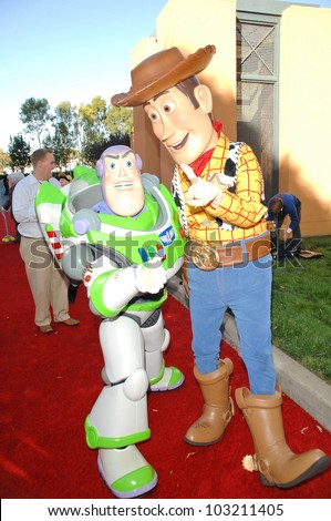 "Atmosphere at the ""The Princess And The Frog"" World Premiere, Walt Disney Studios, Burbank, CA. 11-15-09 - stock photo"