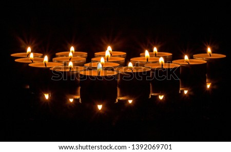Atmosphere burn candlelight candles light #1392069701