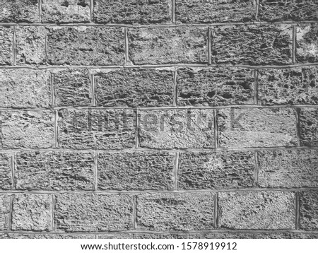 atmospheric background texture of an old brick wall #1578919912