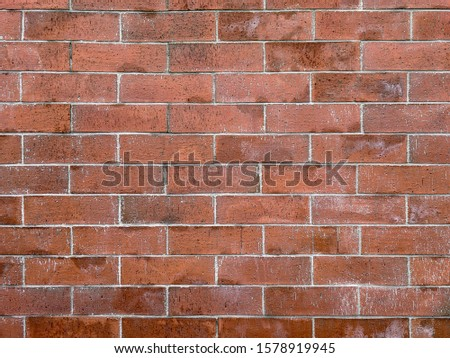 atmospheric background texture of an old brick wall #1578919945