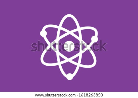 atom icon,science icon. science design,Digital graphics.