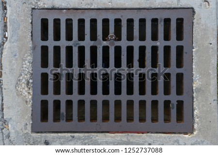 Attachments, covers, signs, grates, plates, and more #1252737088