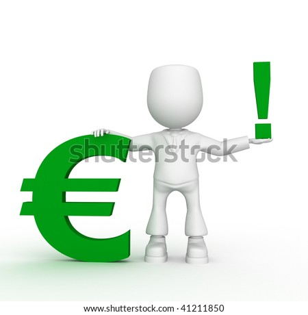 attention green euro)