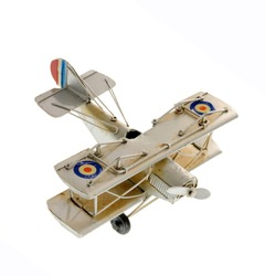 Attractive airplane model, isolated on white background