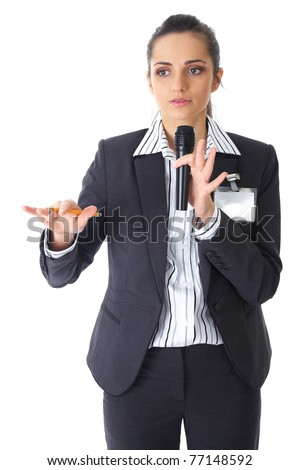 Image result for holds microphone