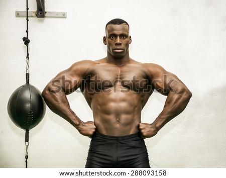 Hunky black men