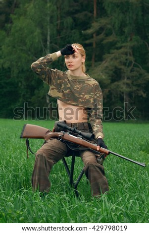Sexy hunting photos