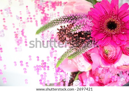 pink flowers background. flowers background in pink