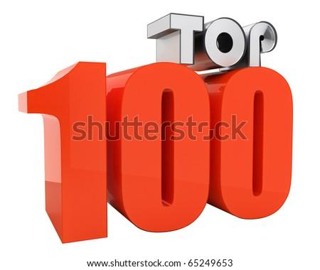 attractive TOP100 3d-text