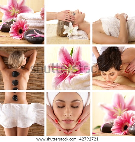 Lifestyle - Pagina 6 Stock-photo-attractive-women-getting-spa-treatment-42792721