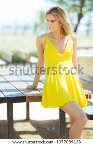Topic has dress blonde outside photography final