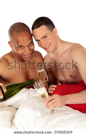 stock photo attractive young mixed ethnicity gay homosexual couple caucasian and african american men in the 59608369 ... for hardcore porn flicks   one of Britain's top porn photographers had ...