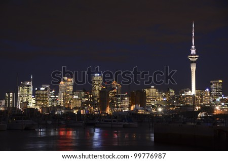 AUCKLAND, NEW ZEALAND - APRIL 10: The New Zealand city of Auckland is famous for producing many of the world's top international yachting crews, April 10, 2012 in Auckland, New Zealand.