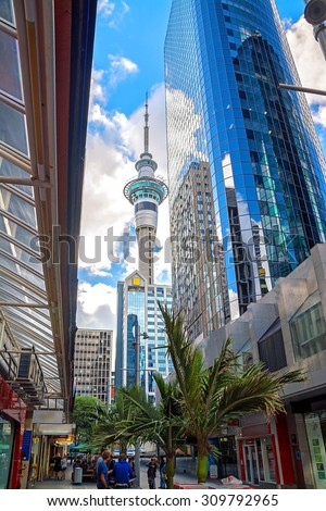Auckland, New Zealand, Sky tower #309792965