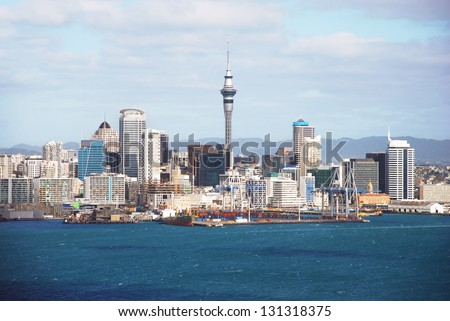 Auckland, New Zealand - the largest and most populous urban area in the country